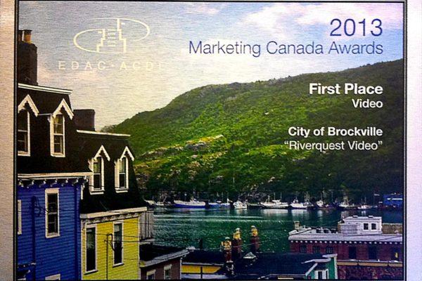 First Place Marketing Canada Award 2013