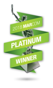 2018 MarCom Platinum Winner