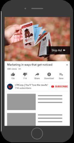 Google Video Ad example